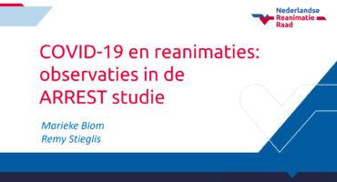 presentatie COVID-19 en reanimaties